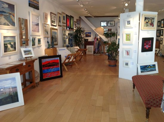 Arran Art Gallery Interior
