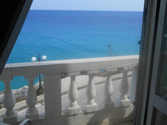 Albergo Tirreno: vista dalla finestra