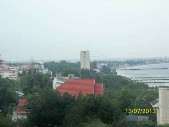 Hotel Feodosia: Вид со смотровой площадки
