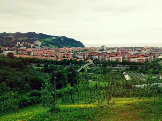 Arizia: view over zarautz