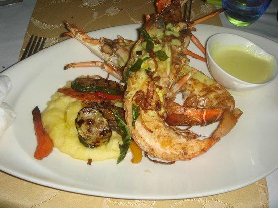 Constance Lemuria: Cena ristorante sul mare