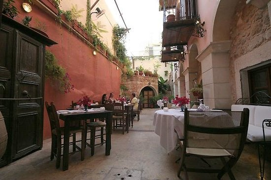 Veneto Restaurant: Cour