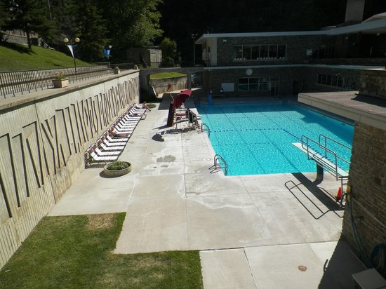 Radium Hot Springs: the not so hot pool at radium