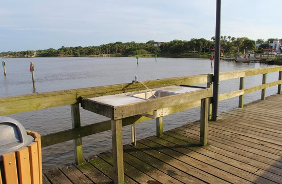 Cassen Park: Fish Cleaning Station