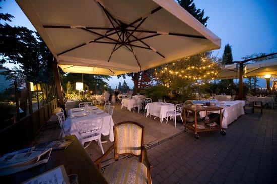 terrazza ristorante - Foto di Quel Castello di Diegaro, Cesena ...