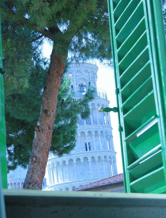 Hotel Villa Kinzica: My room with a view!