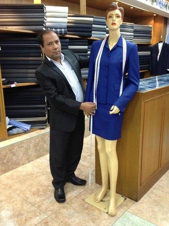 Signature Collection Tailor: Masurement