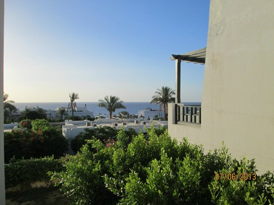 Poinciana Sharm Resort & Apartments: View from our room