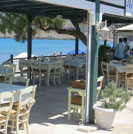 Nostos: Tables by the beach