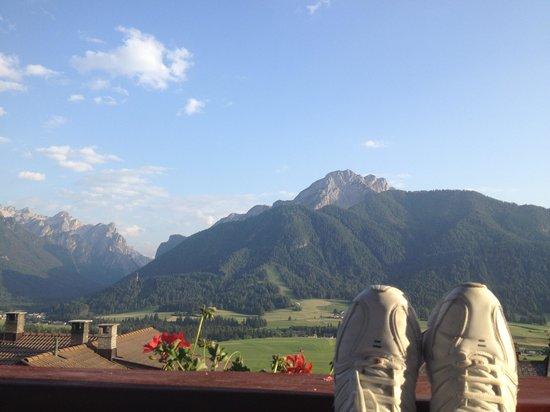 Wiesenhof: Vista dal balcone