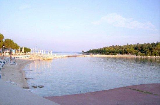 Rovinj, Croatia: Spiaggia Isola Rossa, Rovigno