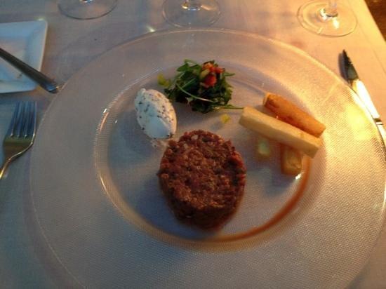 Fragata: steak tartarre