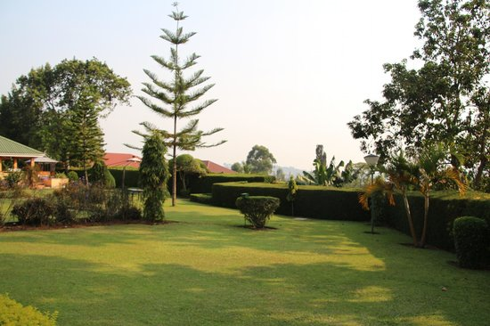 Fort Motel : Hotelpark