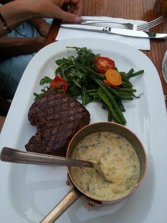 Au Vieux Bruxelles: Steak