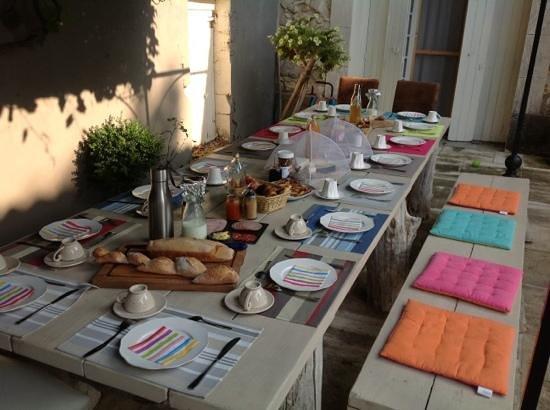 B&B Mas La Boheme: ontbijt