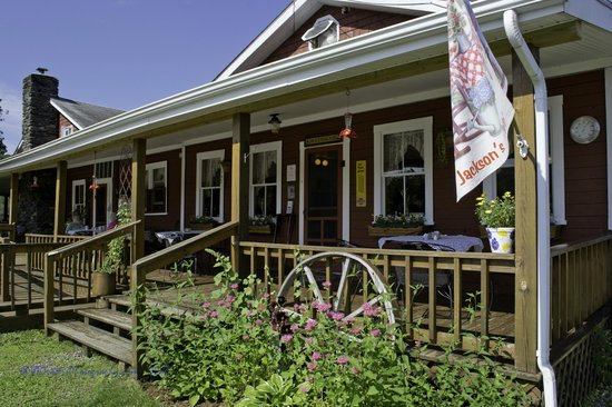 Jackson's Lodge: Jackson's Cafe