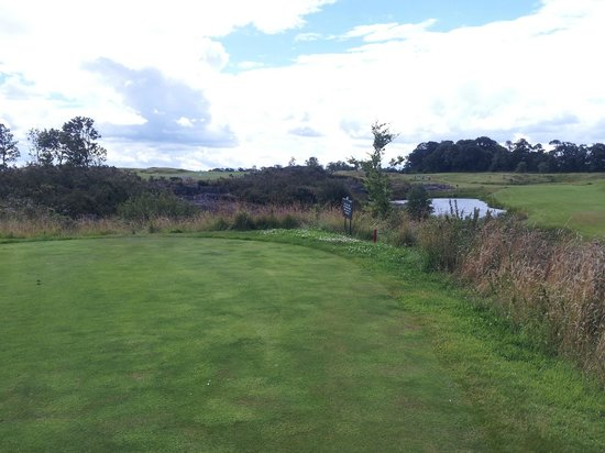K Club Golf Club: Par 5 3rd from tee