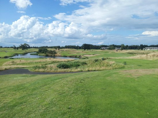 The K Club: 16th from tee