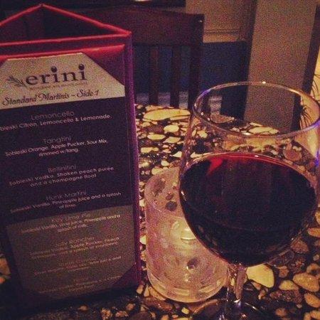 Erini Restaurant: A drink at the bar