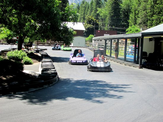 Wallowa Lake State Park: Go Cart