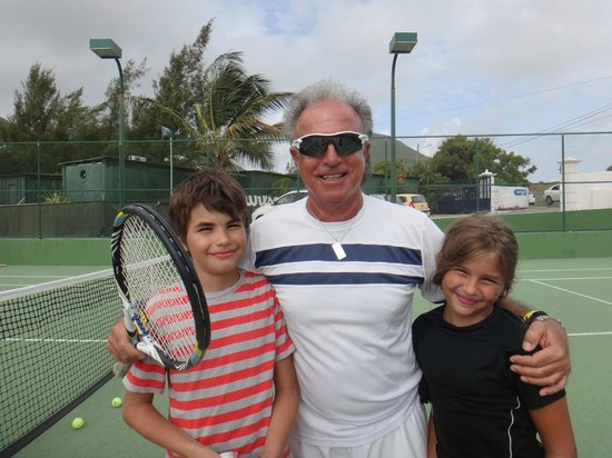 American Tennis Academy : Dominique, Sophie and Oliver aka