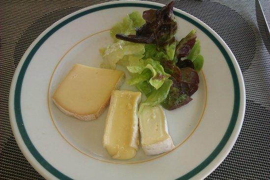 L'Eiffel : Assiette de fromages