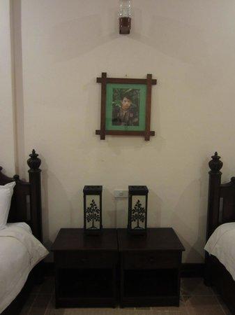 Villa Meuang Lao: 트윈룸