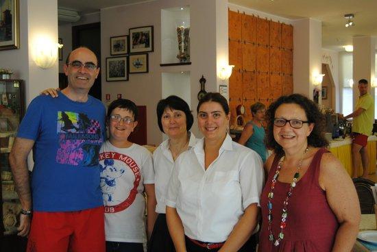 Hotel Manzoni: Con Ornella e Luana ...