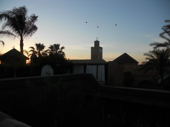 La Sultana Marrakech: View from the terrace