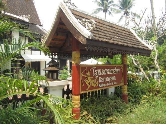 Ramayana Boutique Hotel: 호텔 전경