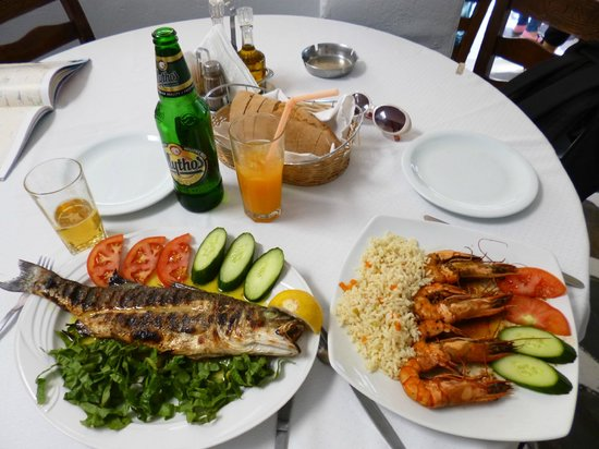 Taverna Antonini: sea bass&shrimp