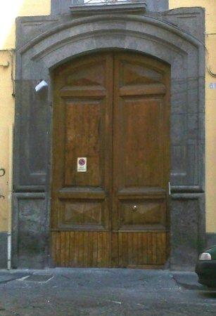 B&B della Corte: ingresso palazzo