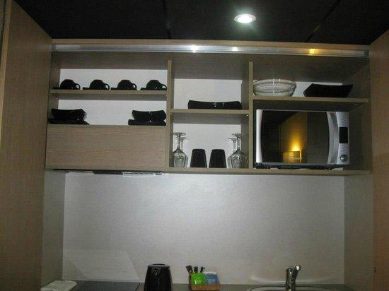 Seven Urban Suites Prado : Angolo cottura