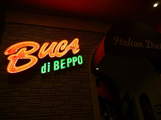 Enseigne - Picture of Buca di Beppo, Las Vegas - TripAdvisor