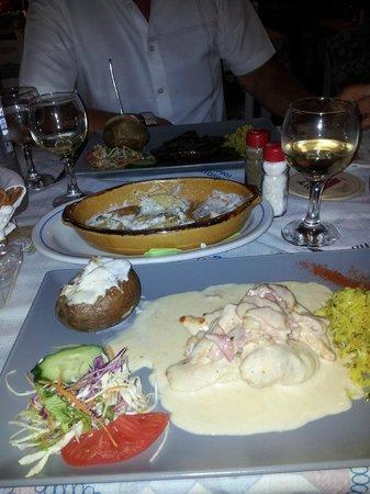Taverna Andreas: Delicious food