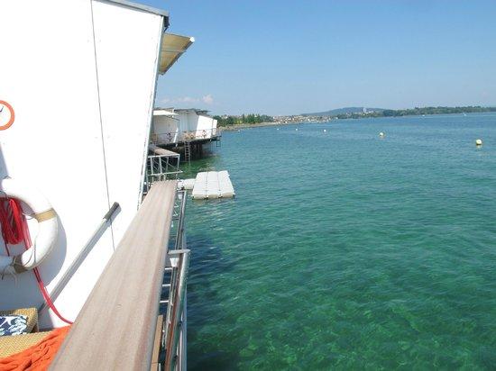 Hotel Palafitte : vuez sur le lac depuis la chambre