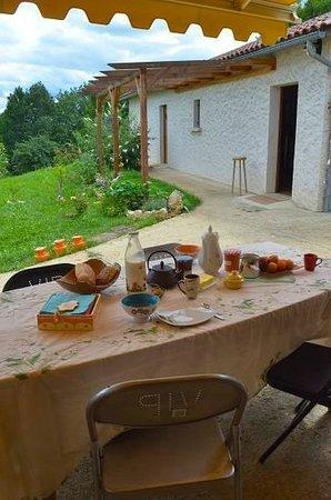 Petit-déjeuner à la campagne - Photo de Au Bord du Monde, Villars -  Tripadvisor