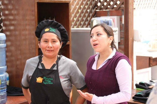 Peruvian Cooking Experience: The cook and Naty