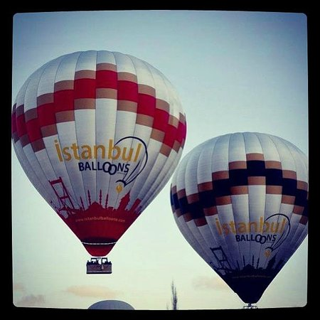 Above Love Valley - Picture of Istanbul Balloons, Goreme ...