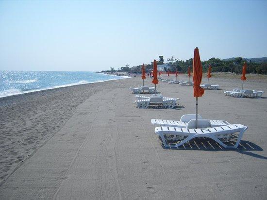 Villaggio Irene: immensa spiaggia