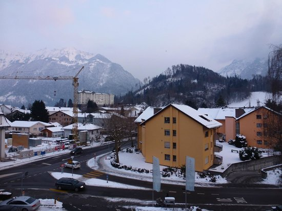 Stella Hotel Interlaken : View from our room