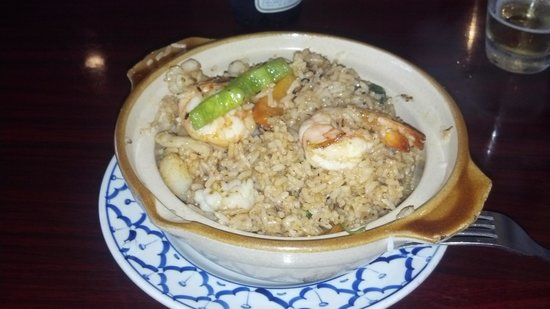 Bangkok Golden: Potpourri Seafood Fried Rice
