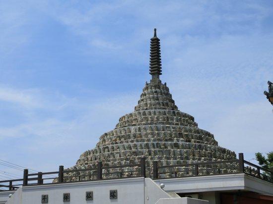 千体仏塔 - 中京区、壬生寺の写...
