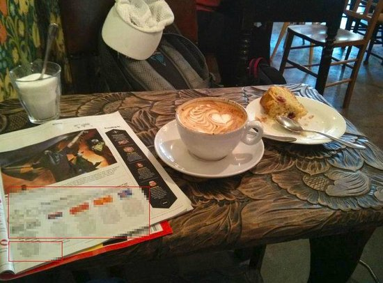 Espressini: Coffee with tasty snack