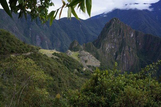 Inca Land Adventures: Machu Picchu from the Sun Gate Trail.