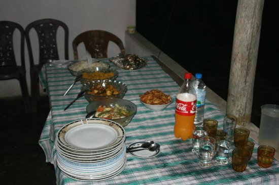 Karu's Guest House: Some nice food