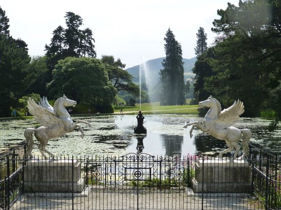 Tour Dublin: Wicklow Gardens at Powerscourt