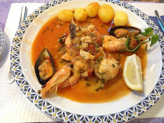 Vimar Restaurant and Bar: Cataplana de Peixe e Marisco