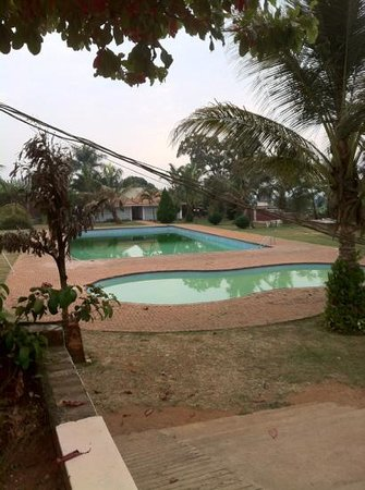 Tropic Inn Hotel : garden and pools