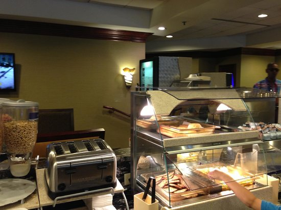 Holiday Inn Express Philadelphia-Midtown: Zona de desayuno